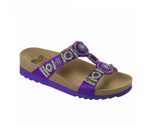 Image Scholl New Bogota Wedge Violet Taille 38